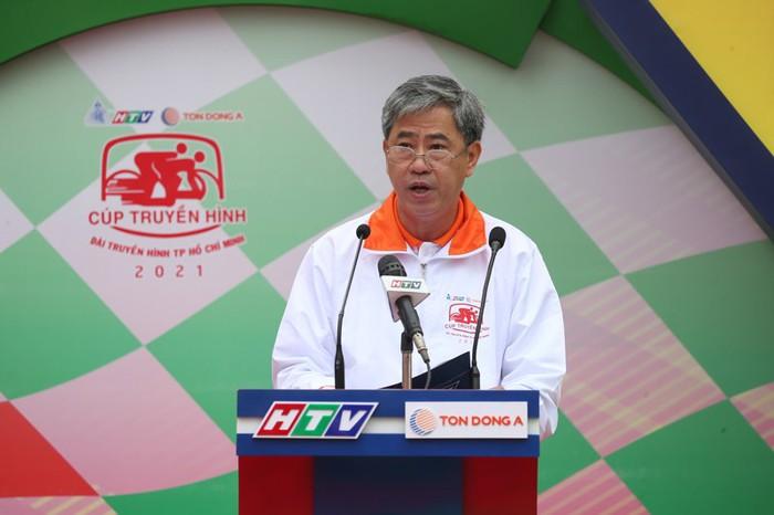 Cuộc so tài hấp dẫn vòng quanh thành phố Cao Bằng khai màn giải đua xe đạp Cúp Truyền hình TP.HCM 2021 - Ảnh 2.