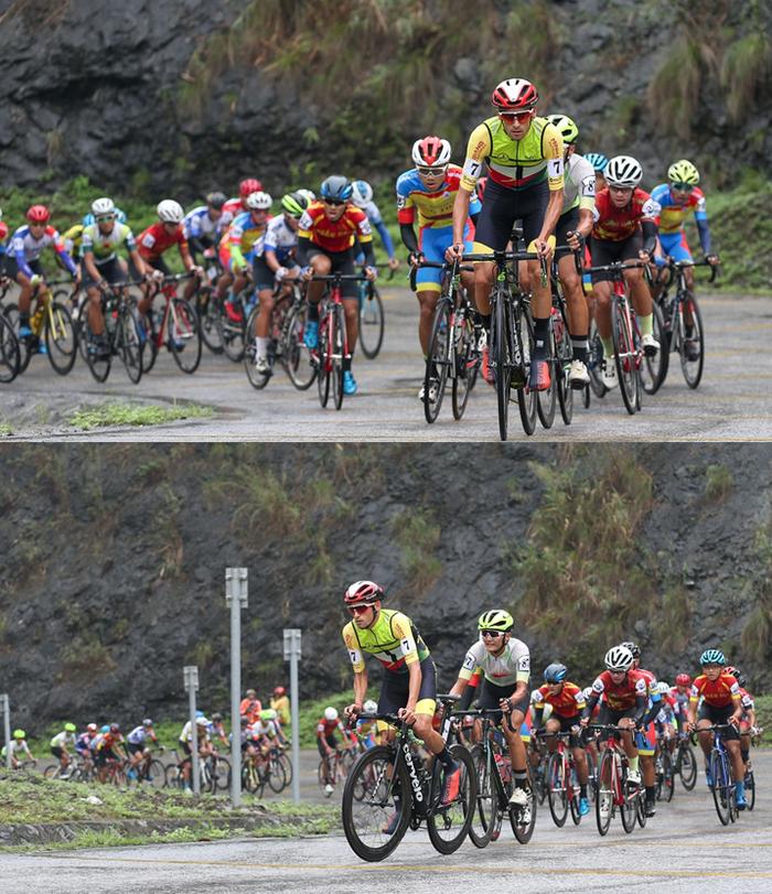 Người dân đội mưa tiếp lửa cho các VĐV tại giải đua xe đạp Cup Truyền hình TP.HCM - Ảnh 4.