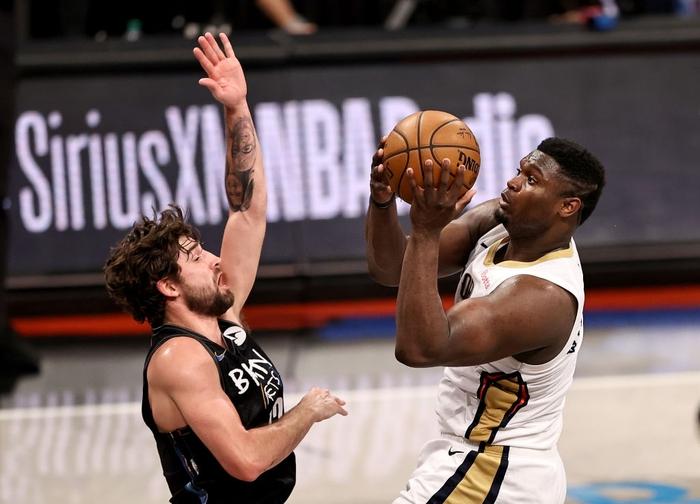 Kevin Durant trở lại, Brooklyn Nets chặn đứng kỳ tích của Zion Williamson bằng chiến thắng hủy diệt - Ảnh 1.