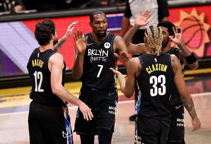 Kevin Durant trở lại, Brooklyn Nets chặn đứng kỳ tích của Zion Williamson bằng chiến thắng hủy diệt - Ảnh 3.