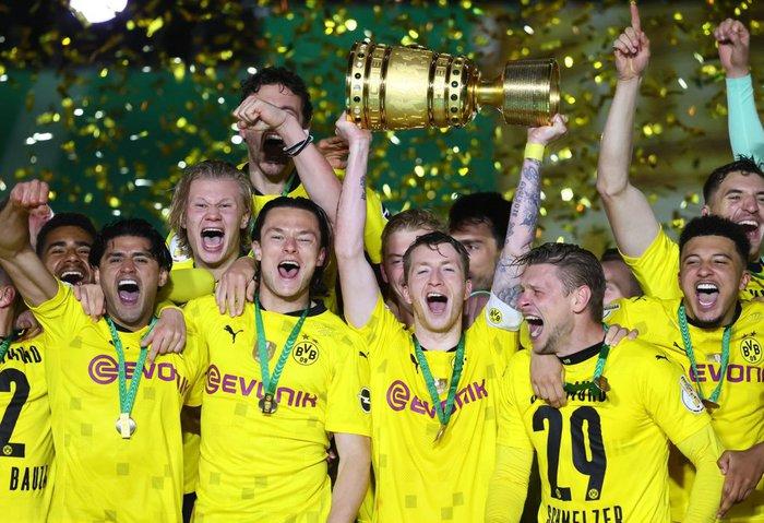 Sancho và Haaland rực sáng đưa Dortmund vô địch Cúp Quốc gia Đức - Ảnh 1.
