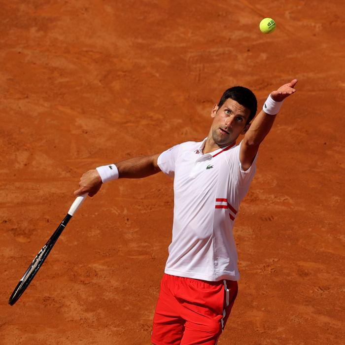 Djokovic hủy diệt đối thủ, Nadal thoát thua ngoạn mục ở vòng 3 Rome Masters - Ảnh 2.