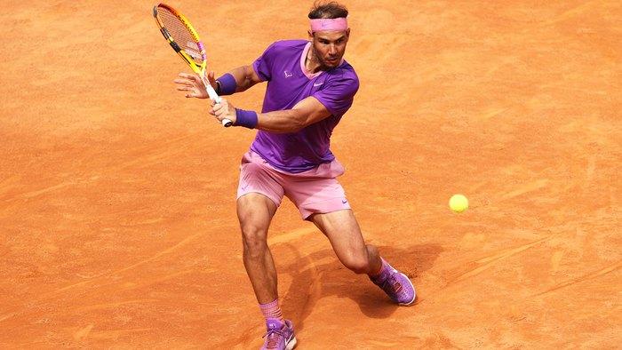 Djokovic hủy diệt đối thủ, Nadal thoát thua ngoạn mục ở vòng 3 Rome Masters - Ảnh 9.