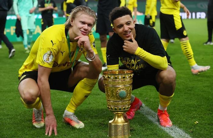 Sancho và Haaland rực sáng đưa Dortmund vô địch Cúp Quốc gia Đức - Ảnh 2.
