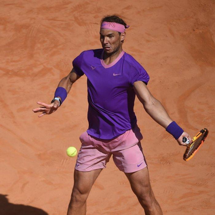 """Nadal """"trả nợ"""" thành công trước Zverev, Djokovic lâm vào thế nguy ở tứ kết Rome Masters - Ảnh 3."""