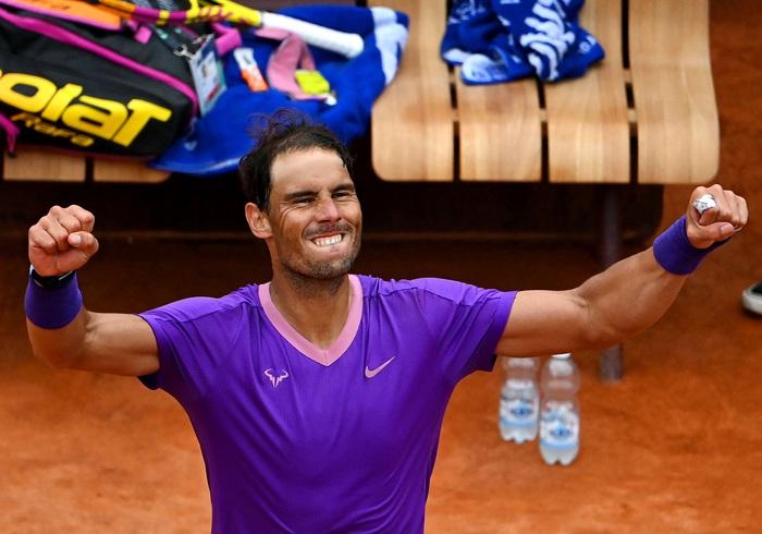 """Nadal """"trả nợ"""" thành công trước Zverev, Djokovic lâm vào thế nguy ở tứ kết Rome Masters - Ảnh 9."""
