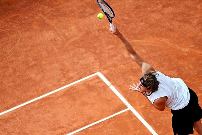 """Nadal """"trả nợ"""" thành công trước Zverev, Djokovic lâm vào thế nguy ở tứ kết Rome Masters - Ảnh 7."""