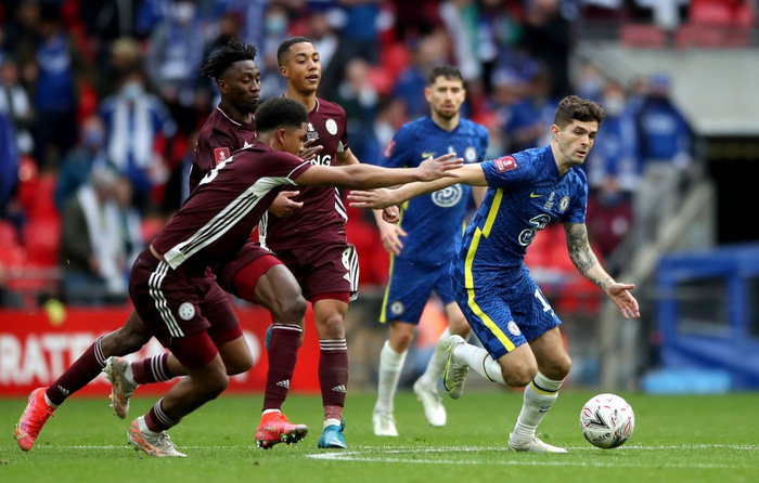 Leicester vô địch FA Cup nhờ cú nã đại bác cháy lưới Chelsea và drama hút chết phút 90 - Ảnh 5.