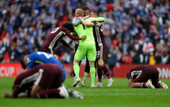 Leicester vô địch FA Cup nhờ cú nã đại bác cháy lưới Chelsea và drama hút chết phút 90 - Ảnh 9.