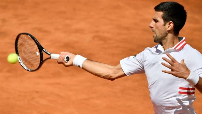 Djokovic thắng liên tiếp hai trận trong ít giờ để đấu Nadal tại chung kết Rome Masters - Ảnh 5.