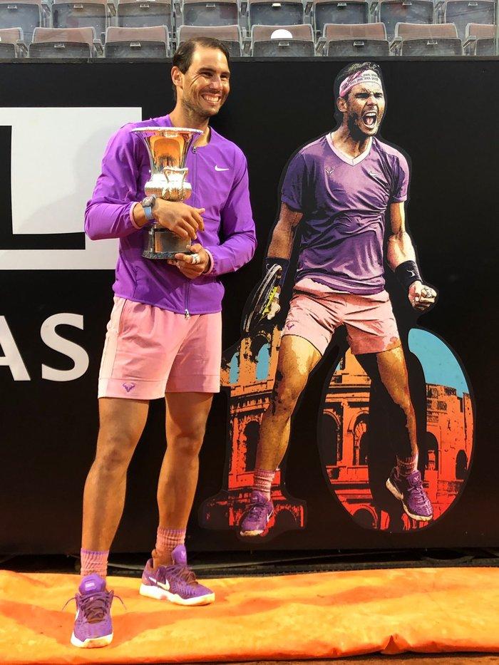 Đánh bại địch thủ Djokovic, Nadal lần thứ 10 vô địch Rome Masters - Ảnh 2.