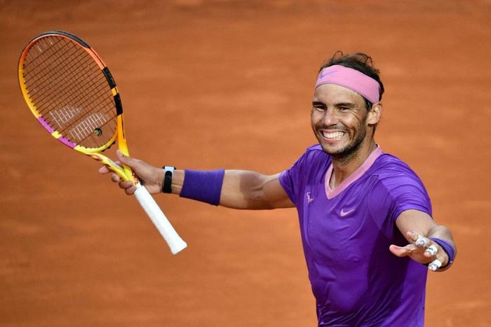 Đánh bại địch thủ Djokovic, Nadal lần thứ 10 vô địch Rome Masters - Ảnh 10.