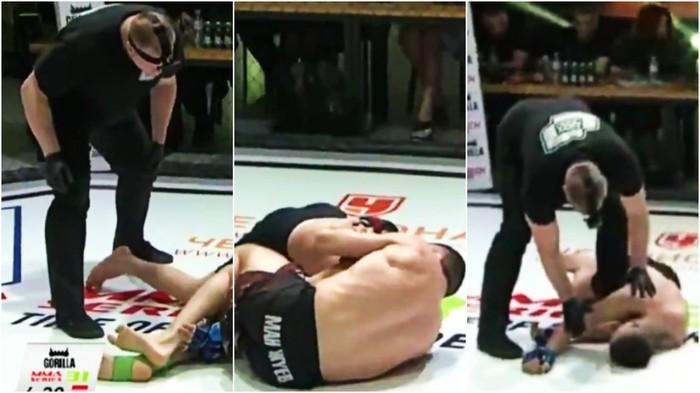 Trọng tài gây phẫn nộ vì quyết định dừng trận đấu chậm chạp, đẩy võ sĩ vào tình thế nguy hiểm - Ảnh 2.