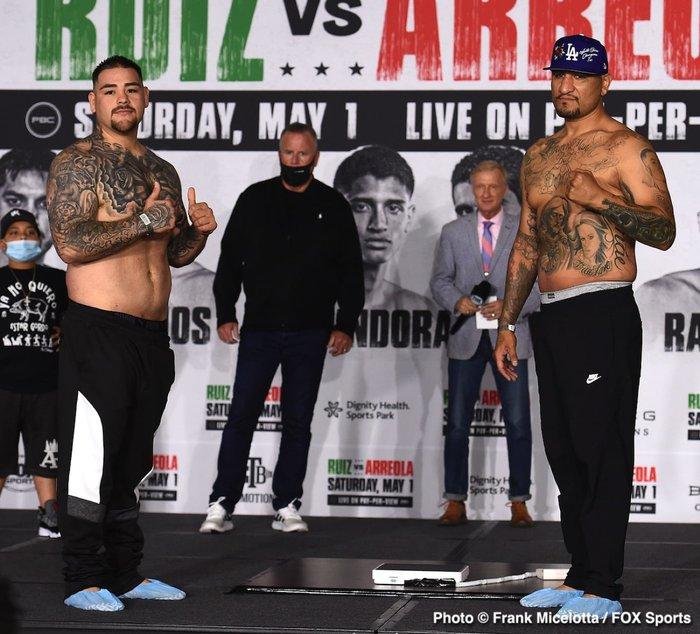 Hậu giảm cân, nhà cựu vô địch boxing thế giới Andy Ruiz Jr chật vật vượt qua lão tướng Chris Arreola - Ảnh 1.