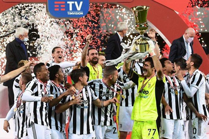 Juventus đăng quang Coppa Italia trong ngày Ronaldo tịt ngòi - Ảnh 10.