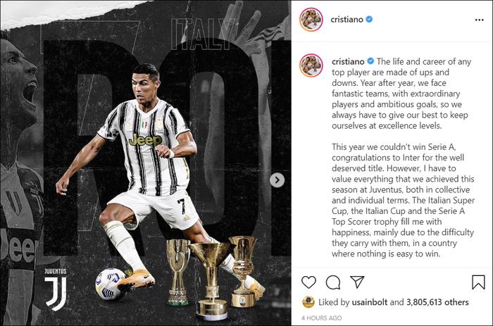 """Ronaldo """"thả"""" tâm thư, hé lộ khả năng chia tay Juventus - Ảnh 1."""