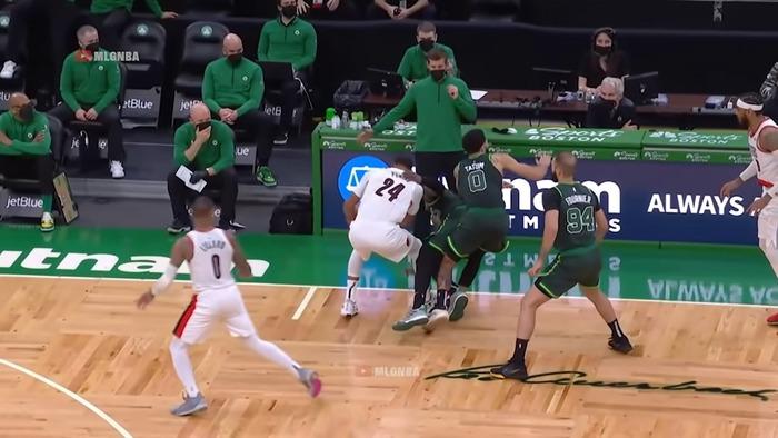 CJ McCollum và Damian Lillard bùng nổ trong thế trận đôi công, vượt mặt bộ đôi Jay-Jay của Boston Celtics - Ảnh 3.