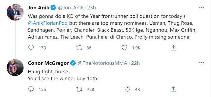 """Conor McGregor cam kết sẽ hạ Dustin Poirier bằng """"cú knock-out"""" của năm - Ảnh 1."""