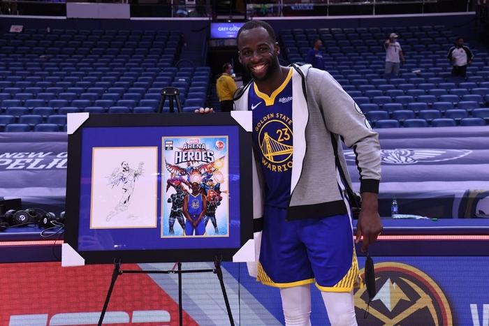 """Không phải Stephen Curry, Draymond Green mới là """"siêu anh hùng"""" đầu tiên tại NBA gia nhập biệt đội Avengers - Ảnh 3."""