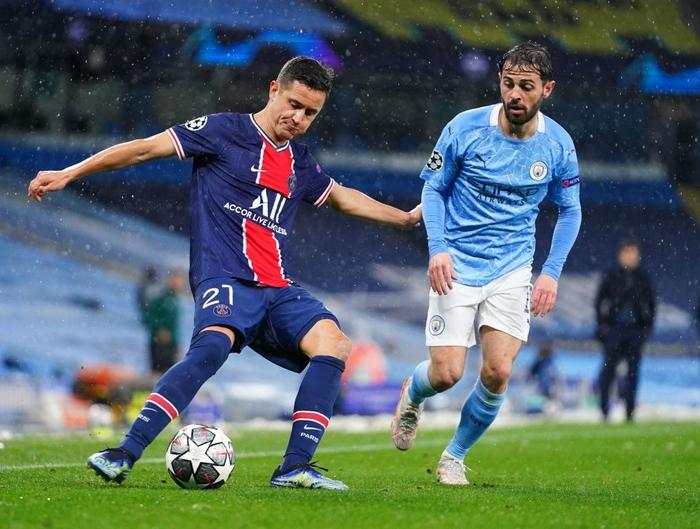 Manchester City vượt qua PSG để tiến vào chung kết bằng cú đúp của Mahrez - Ảnh 4.