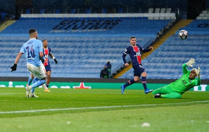 Manchester City vượt qua PSG để tiến vào chung kết bằng cú đúp của Mahrez - Ảnh 5.