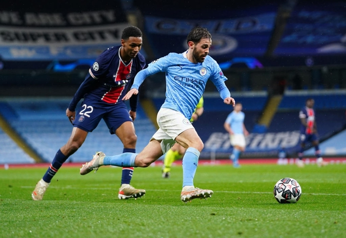 Manchester City vượt qua PSG để tiến vào chung kết bằng cú đúp của Mahrez - Ảnh 7.
