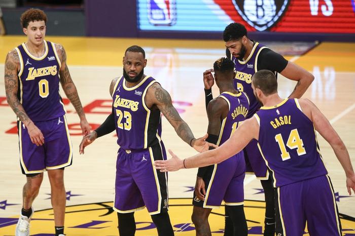 Đối mặt nguy cơ đánh Play-In, liệu Los Angeles Lakers có nên để LeBron James nghỉ ngơi hoàn toàn? - Ảnh 4.