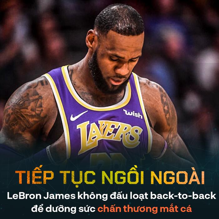 Đối mặt nguy cơ đánh Play-In, liệu Los Angeles Lakers có nên để LeBron James nghỉ ngơi hoàn toàn? - Ảnh 1.