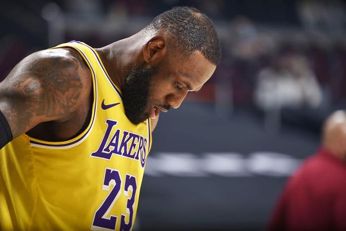 Đối mặt nguy cơ đánh Play-In, liệu Los Angeles Lakers có nên để LeBron James nghỉ ngơi hoàn toàn? - Ảnh 3.