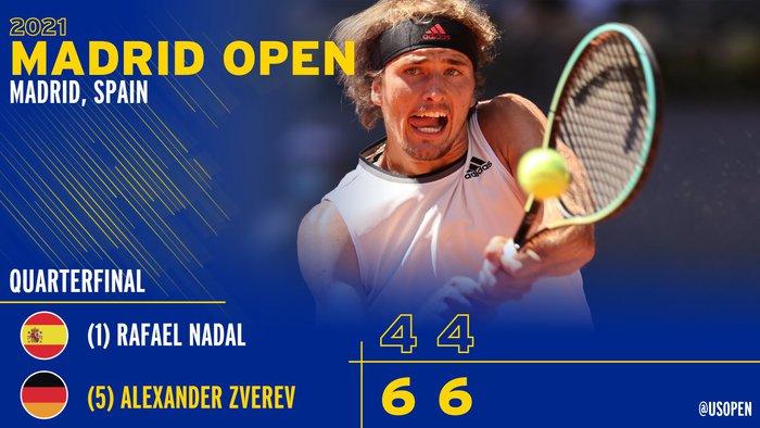 Nadal bị loại sớm ở Madrid Open - Ảnh 9.