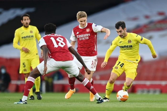 Arsenal cay đắng nói lời chia tay Europa League, lỡ hẹn đại chiến với MU - Ảnh 1.
