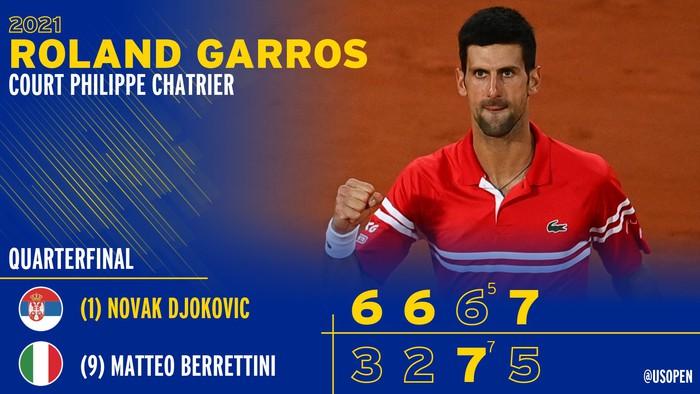 Djokovic đổ máu để đại chiến Nadal tại bán kết Roland Garros - Ảnh 7.