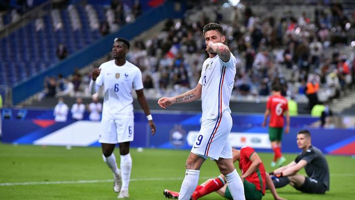 """Mbappe và Giroud """"bóng gió"""" chỉ trích nhau, nội bộ tuyển Pháp lục đục trước thềm Euro 2020 - Ảnh 1."""