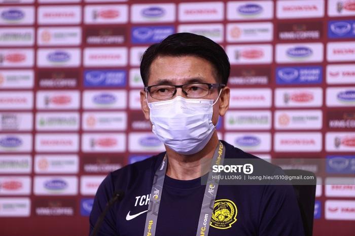 """HLV Tan Cheng-hoe: """"ĐT Malaysia có tinh thần mạnh mẽ trước Việt Nam""""  - Ảnh 1."""