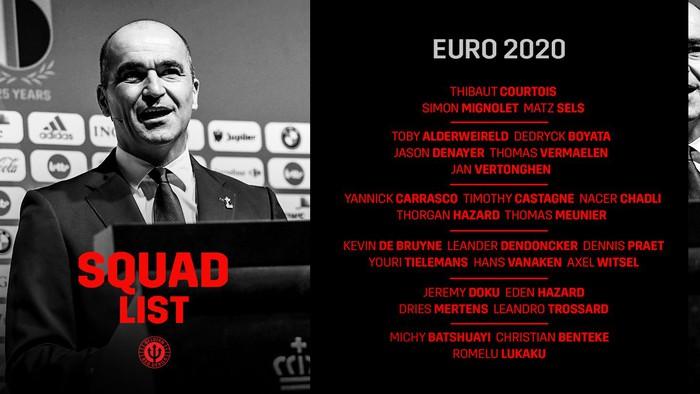 """Preview tuyển Bỉ dự Euro 2020: """"Số 1"""" nhưng khó lần đầu lên đỉnh - Ảnh 1."""