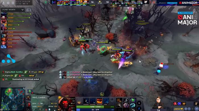 Miracle bị ngộ độc thực phẩm, Team Nigma vẫn thắng dễ Virtus.Pro với tỉ số 2-0 - Ảnh 2.