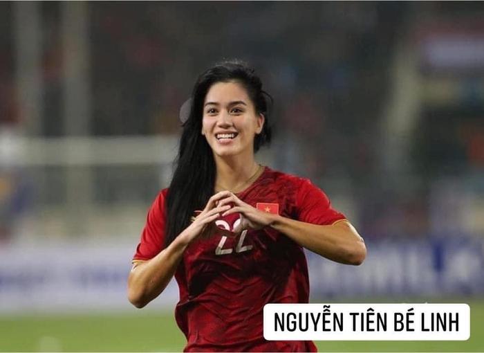 Bã xã Quế Ngọc Hải thích thú với ảnh chế phiên bản nữ của các cầu thủ tuyển Việt Nam  - Ảnh 8.