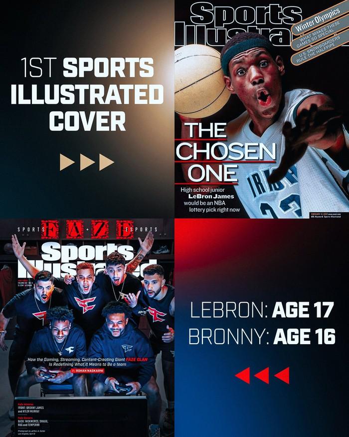 Con trai LeBron James phá kỷ lục của cha khi đạt thành tựu mới ở tuổi 16 - Ảnh 2.