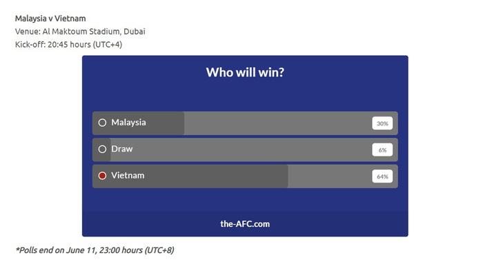 Đội tuyển Việt Nam dành chiến thắng theo bình chọn của AFC - Ảnh 1.