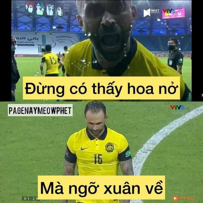 Fan Việt Nam chế ảnh cực gắt ĐT Malaysia sau trận thua thầy trò HLV Park Hang-seo - ảnh 5