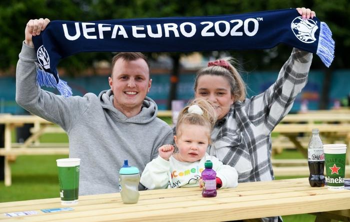 Những hình ảnh đầu tiên trước thời điểm khai mạc Euro 2020 - Ảnh 7.