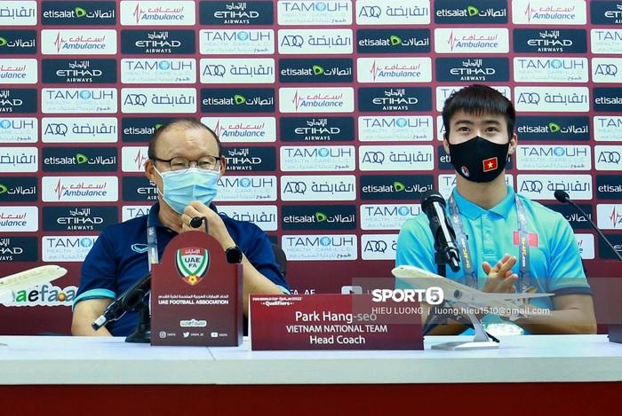 HLV Park Hang-seo: UAE là đội bóng số một - Ảnh 1.