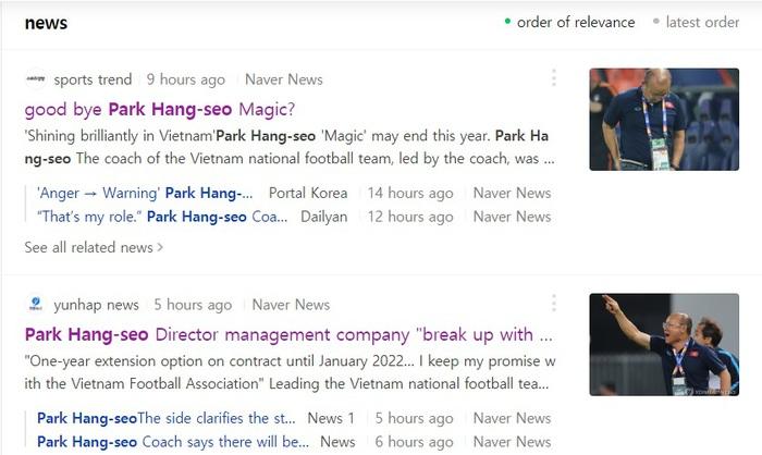 HLV Park Hang-seo phiền lòng vì tin đồn thất thiệt - Ảnh 1.