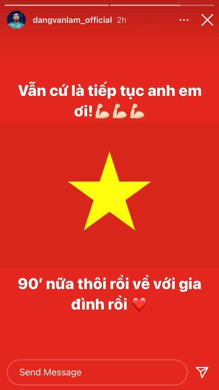 Đặng Văn Lâm gửi lời chúc tới đội tuyển Việt Nam: Cả nhà đang đợi - Ảnh 1.