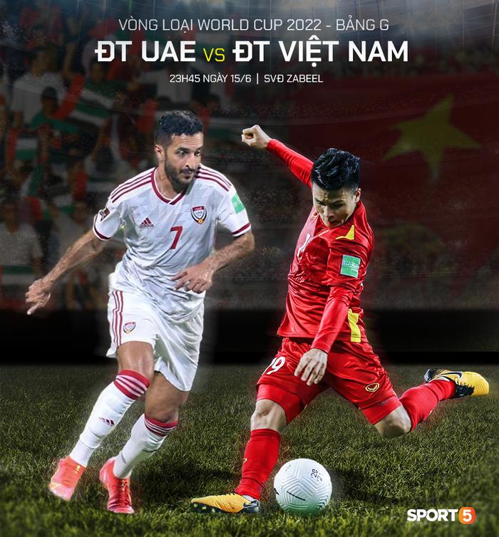 23h45 ngày 15/6, UAE vs Việt Nam: Gặp lại bại tướng đã được... update - Ảnh 3.