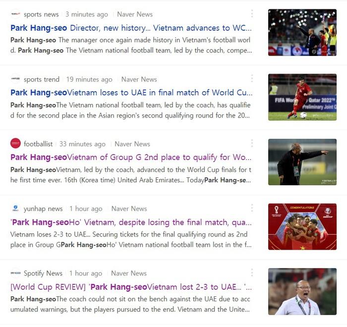 """Báo Hàn Quốc: """"Sự thiếu vắng HLV Park Hang-seo quá chí mạng""""  - Ảnh 2."""