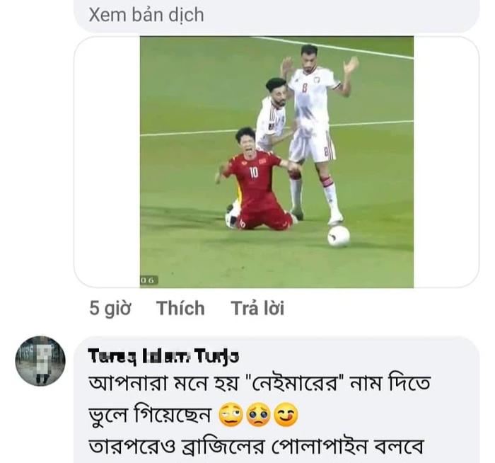 Nóng mắt vì CĐV Việt Nam spam đòi kiện trọng tài, fan quốc tế mỉa mai: Cậu số 10 đó ngã như Neymar vậy - Ảnh 2.