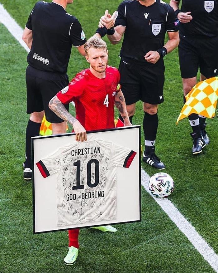 De Bruyne nã tên lửa vào lưới Đan Mạch và từ chối ăn mừng để tôn trọng Eriksen - Ảnh 9.