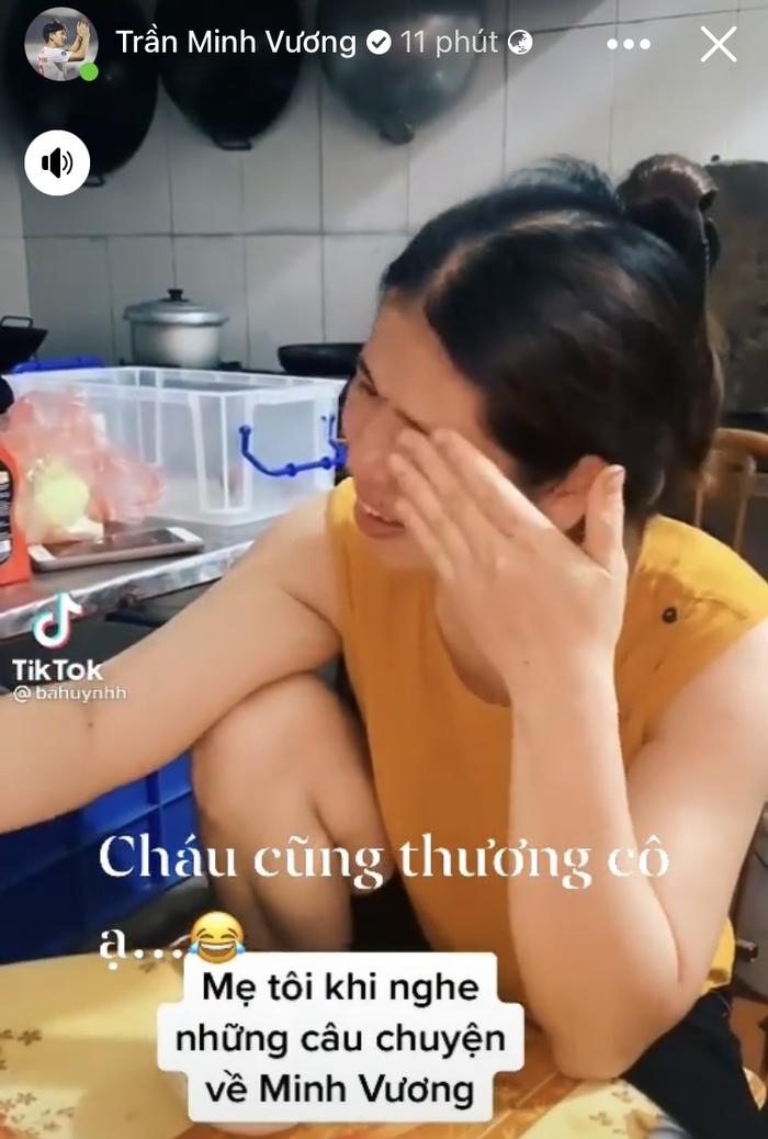 Minh Vương đáp lời khán giả khóc vì thương mình: 'Cháu cũng thương cô ạ' - Ảnh 2.