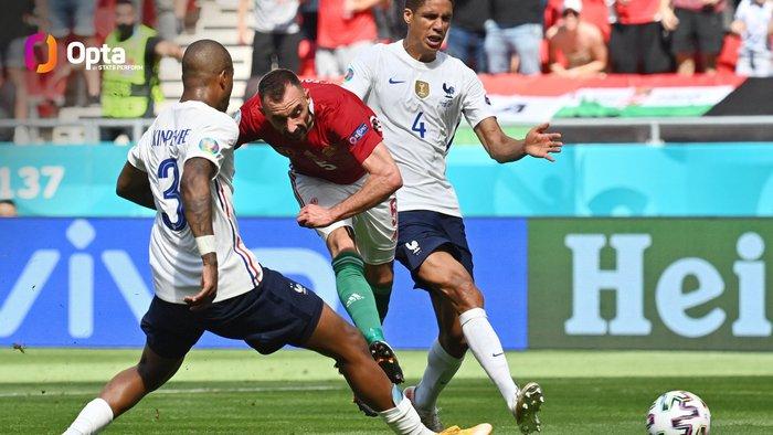 Cầu thủ và CĐV Hungary ăn mừng cuồng nhiệt sau bàn thắng dẫn trước tuyển Pháp - Ảnh 6.